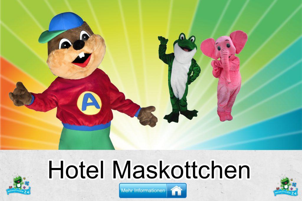 Hotel Kostüme Maskottchen Karneval Produktion Firma Bau