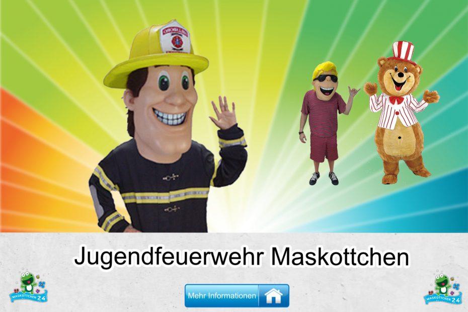 Jugendfeuerwehr-Kostueme-Maskottchen-Karneval-Produktion-Lauffiguren