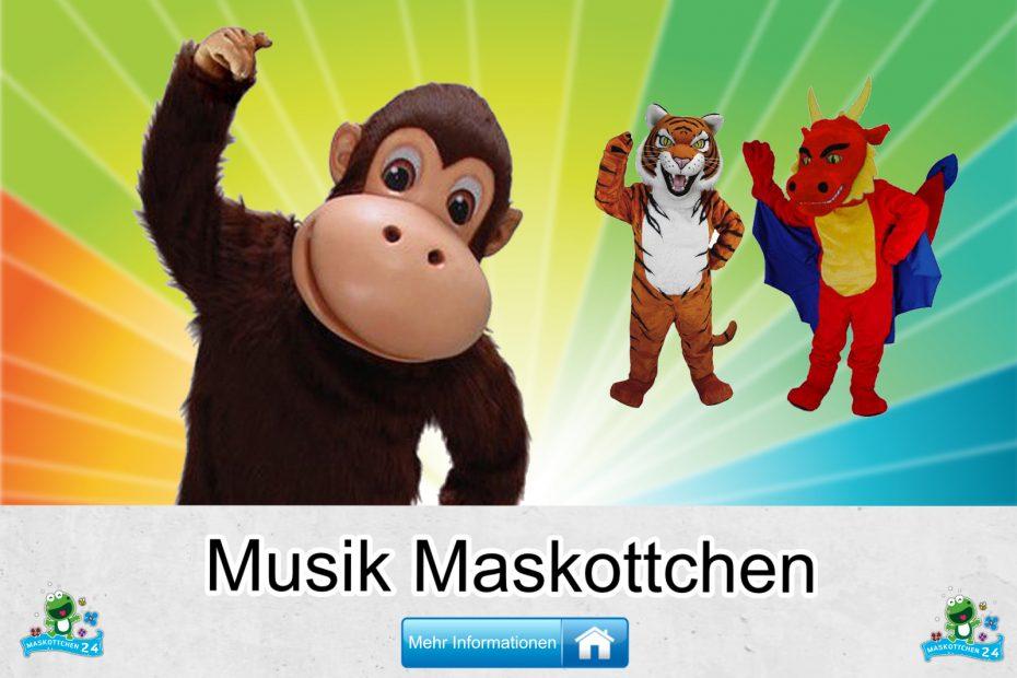 Musik-Kostueme-Maskottchen-Karneval-Produktion-Lauffiguren